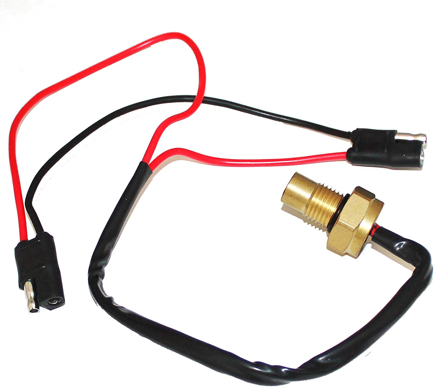 Caltric Fan Heat Thermal Sensor Switch Compatible With Arctic Cat 400 2X4 4X4 Fis Man 2002
