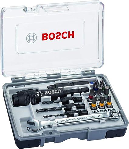 Bosch Home and Garden 2607002786 Puntas de Destornillador, Set de 20 Piezas