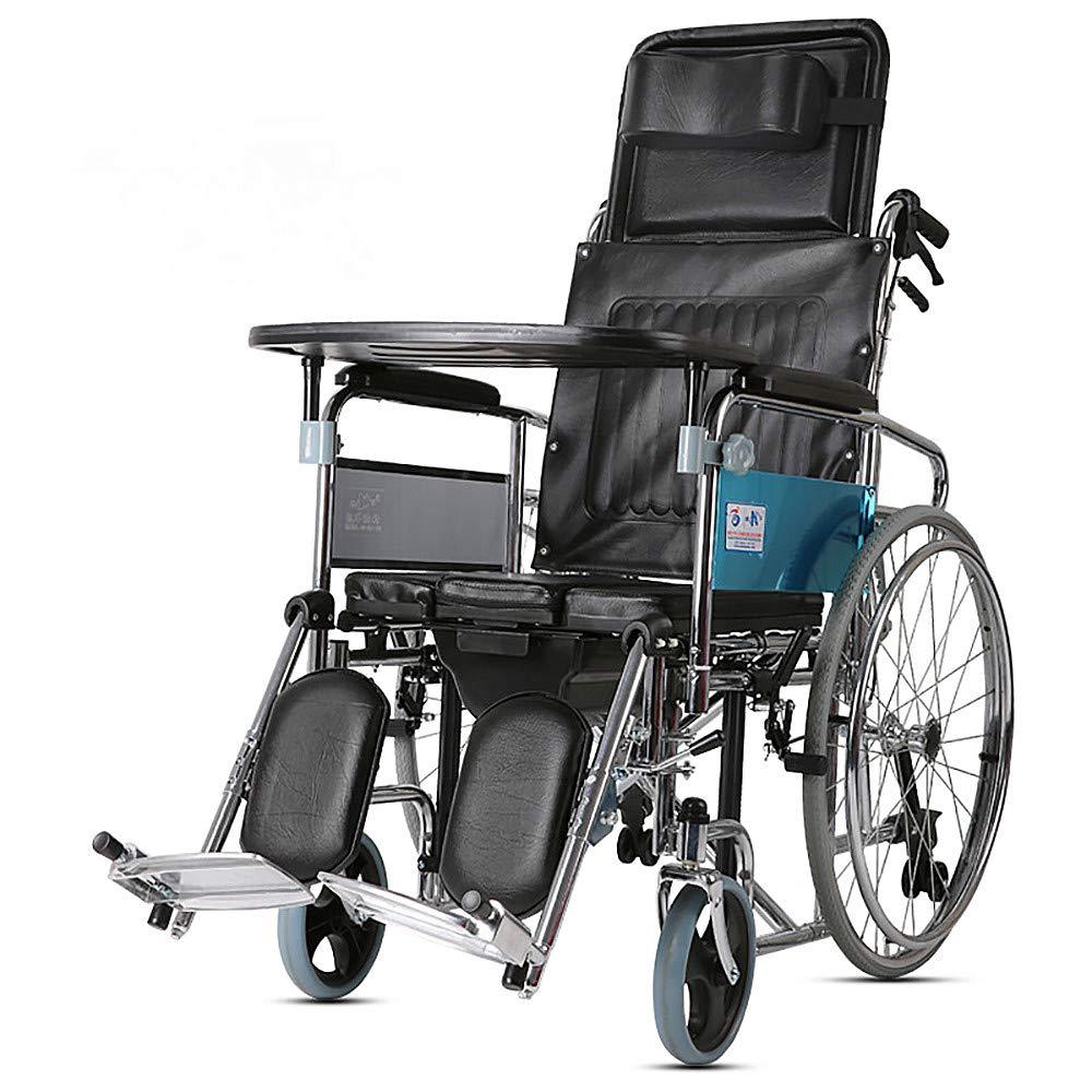 【未使用品】 さわやかな車椅子 B07P6B7J6P、完全に横たわっている高い背部車椅子、座席車椅子の折るカートが付いている年配の障害者、輸送の移動性の車椅子 B07P6B7J6P, フジカワグチコマチ:880c92de --- a0267596.xsph.ru