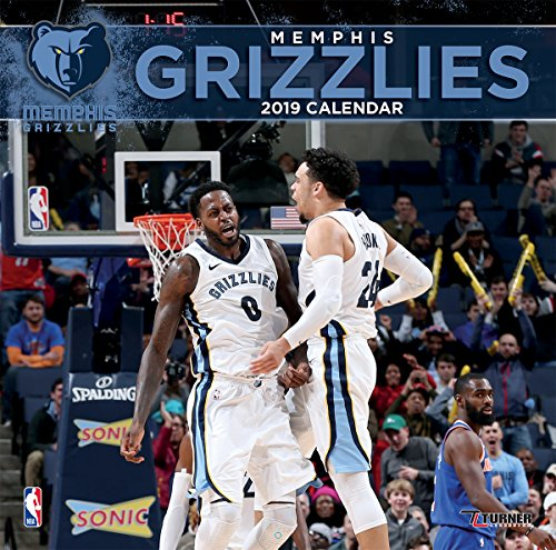 (Turner 1 Sport Memphis Grizzlies 2019 12X12 Team Wall Calendar Office Wall Calendar (19998011883))