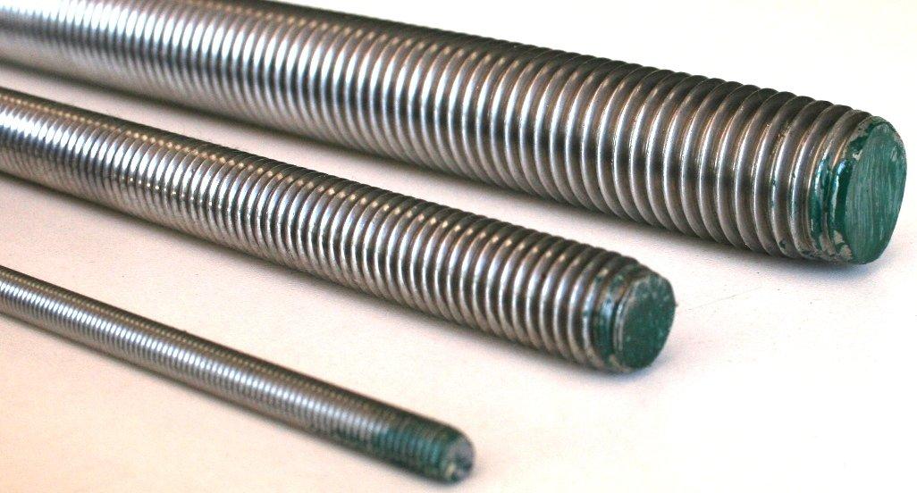 M20 Edelstahl DIN 975//976 A2 1 Gewindestange 1000 mm lang