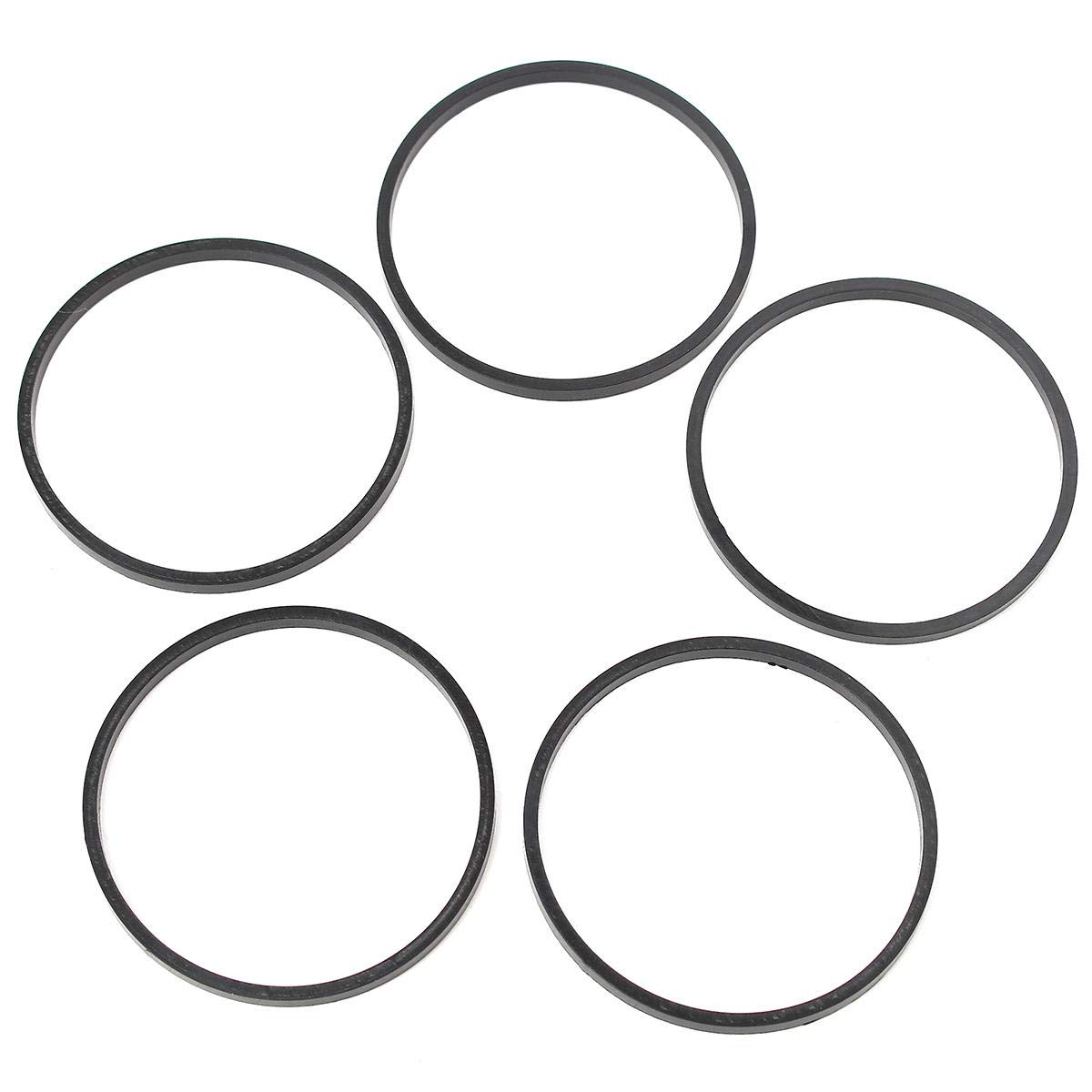 5Pcs Carburetor Float Bowl Black Gaskets For TECUMSEH 631028 631028A 631867