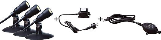 5 oder 10m 5 Meter Heissner SMART Lights Verl/ängerungskabel 2-polig