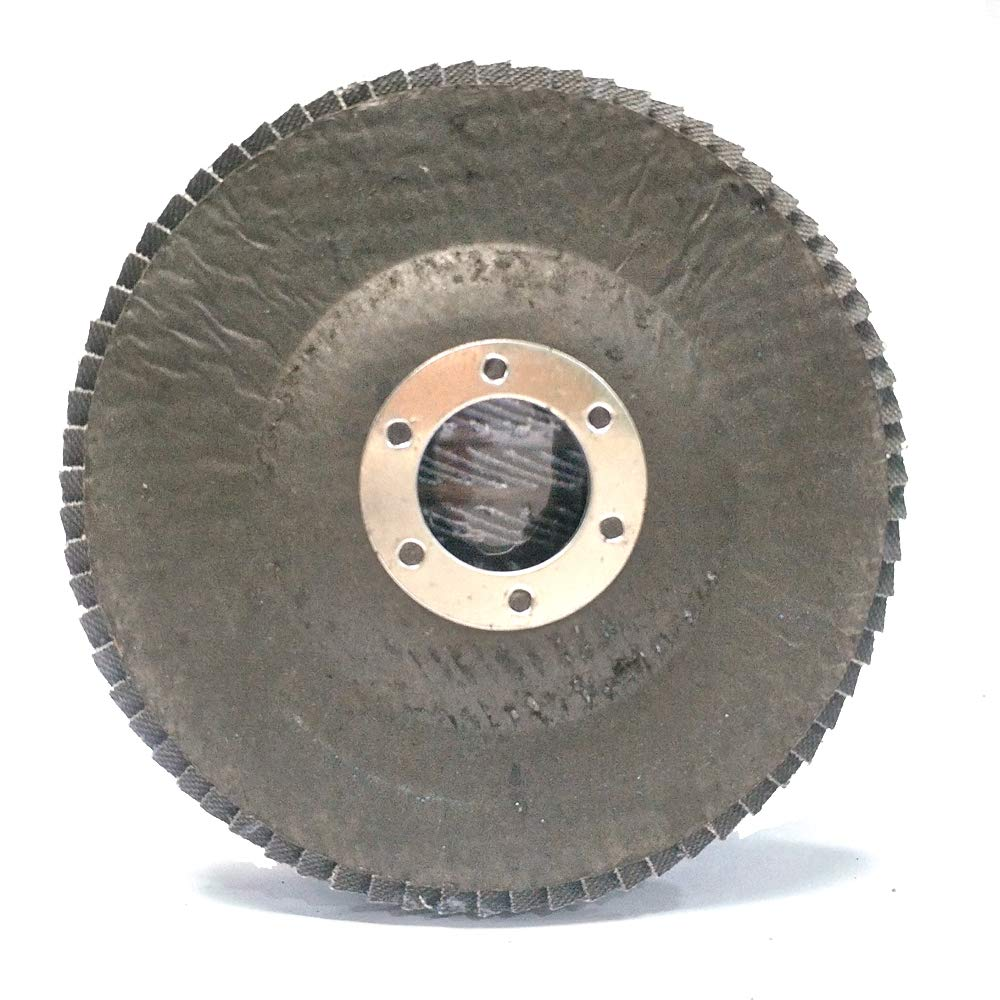GRASSNOTES-4-1//27//8-10pack-Constructed of Industrial Grade high Density Premium Zirconia toprovide More Grinding Material Than Standard Flap Discs 80Grit