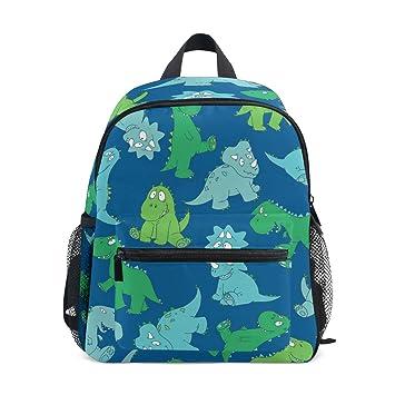 Dinosaur Toddler Kids Backpacks Personalised Childrens Toddler Backpacks for Boys Dinosaur Personalised Nursery Backpacks