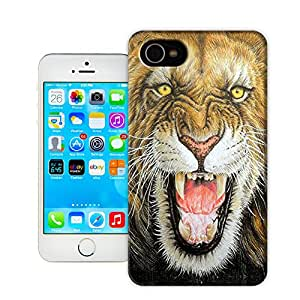 Hot Sale! Lion By Z-Design Beautiful Personality& Creative TPU Hard Case Cover for Apple iphone 4/4s case10