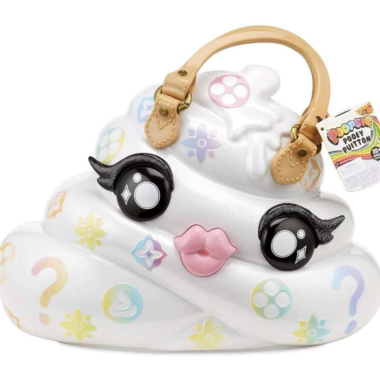 YB Poopsie Pooey Puitton Collectibles Girls Kids Toddlers Indoor Poopsie Slime Surprise (Bonus Donut Lipgloss) Pink Purple Plush Unicorn Stuff Toys Bundle of 4