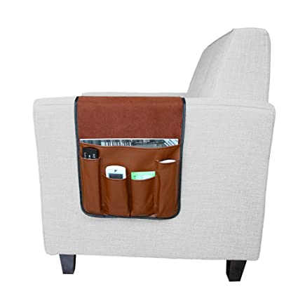 Ordinaire 7 Pockets Sofa Armrest Organizer Couch Chair Double Sided Waterproof Caddy  Organiser For TV Remote Control