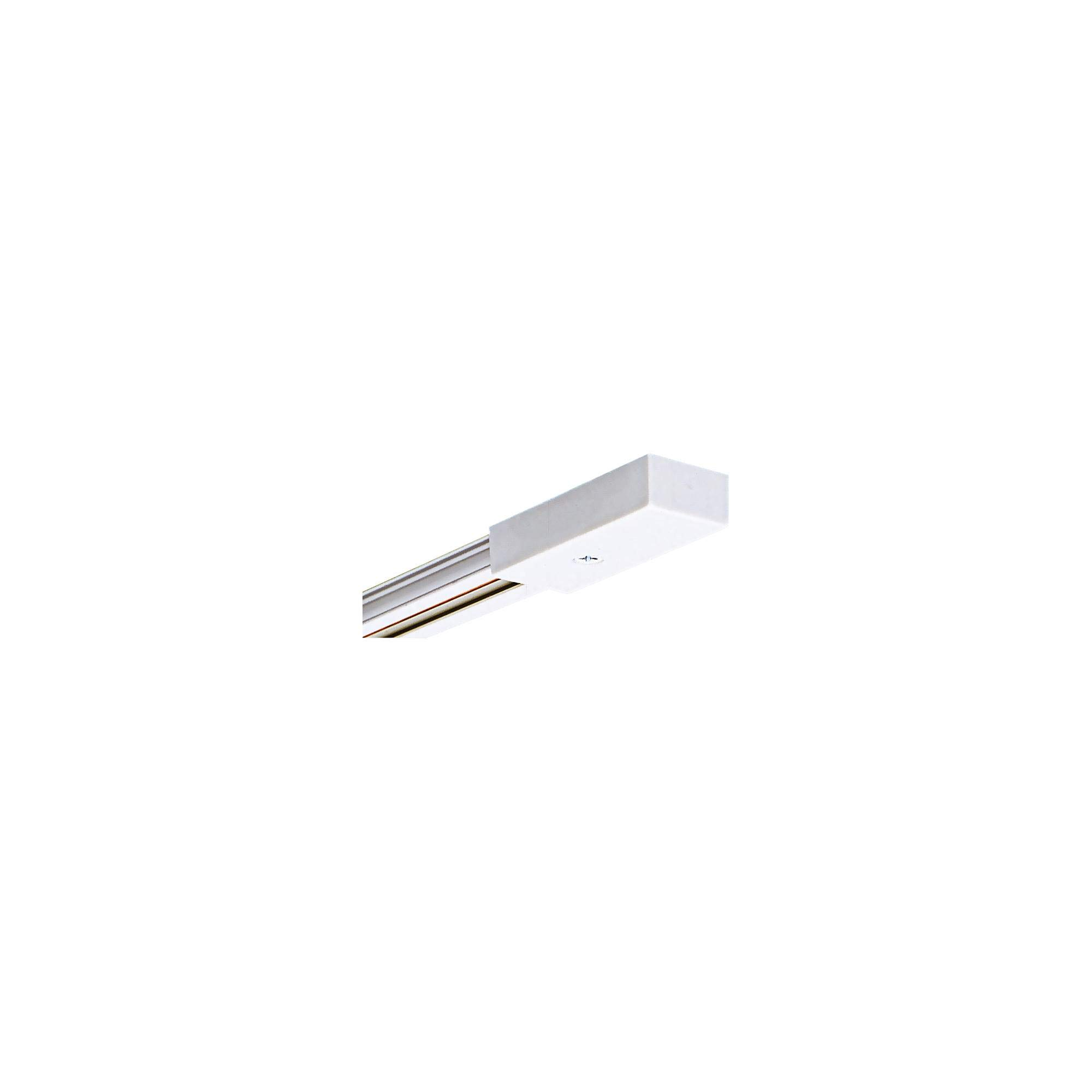 4 Ft Low Voltage Track Section in White Finish Juno Trac 12 Collection