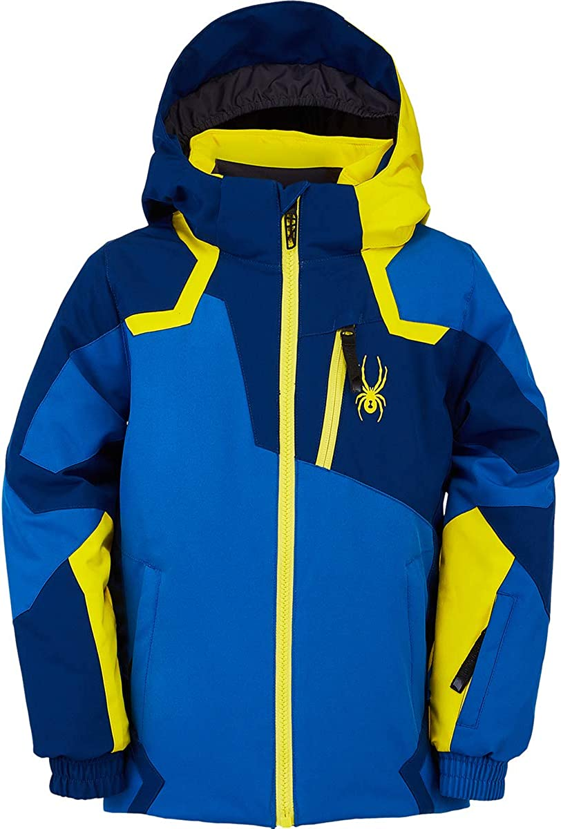 Spyder boys Mini Leader Ski Jacket : Clothing