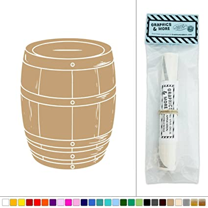 Amazon.com: Wine Barrel Whiskey Vineyard Vinyl Sticker Decal Wall ...
