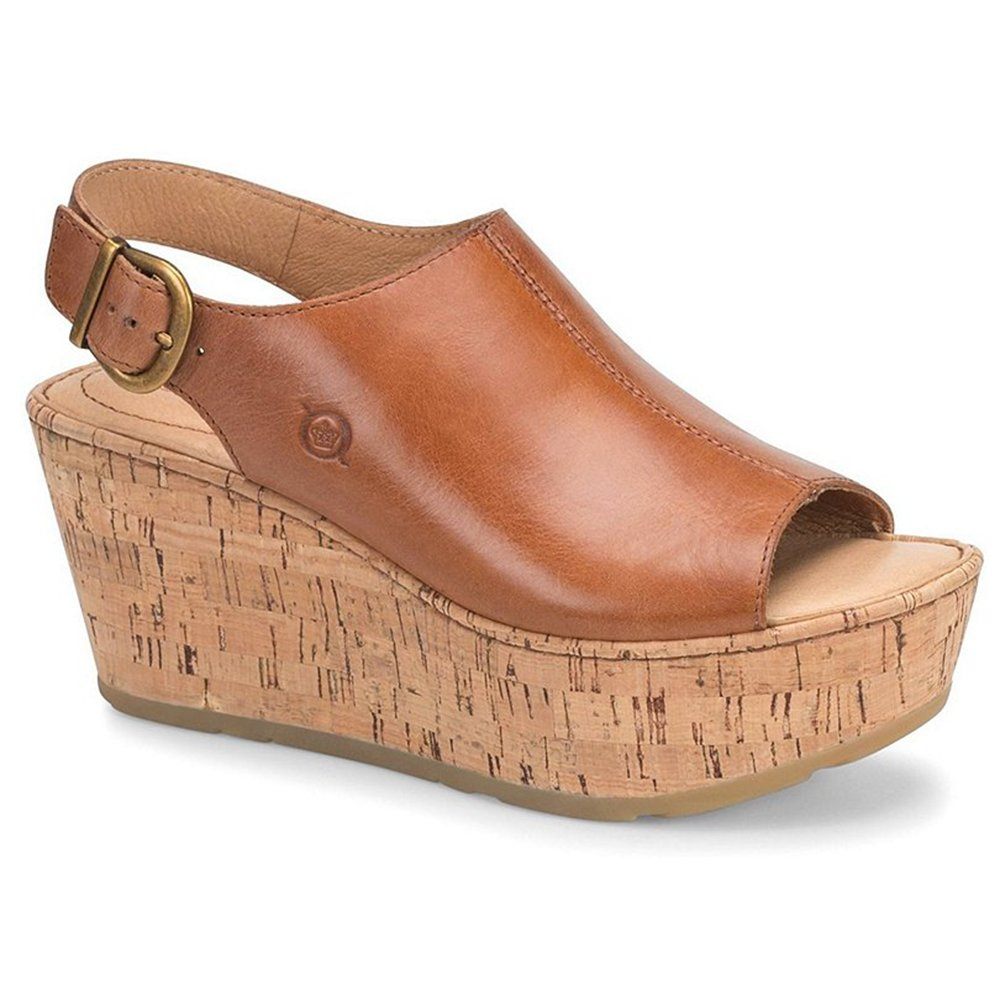great prices new specials later Amazon.com | Born Orbit Brown Full Grain Leather Women's ...