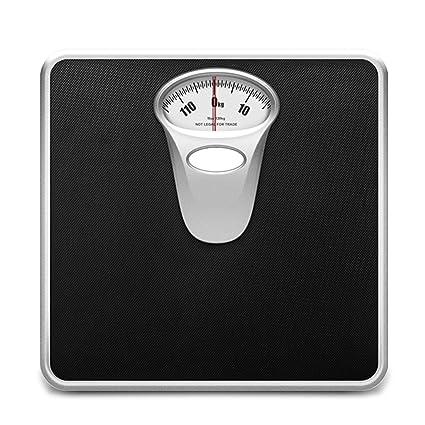 LCSHAN Báscula de Peso para Adulto Báscula de Cuerpo ...