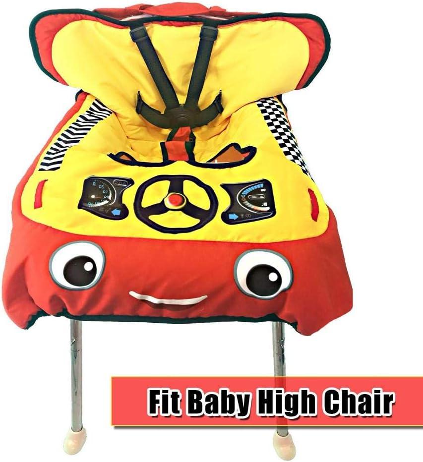 Baby Kinder Supermarkt Einkaufswagen Kissen Esszimmerstuhl Schutz Sicherheit Sichere Reise Tragbares Kissen Baby Einkaufswagen Abdeckung