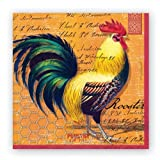 Michel Design Works Rooster Luncheon Napkins, Package of 20, 3-Ply
