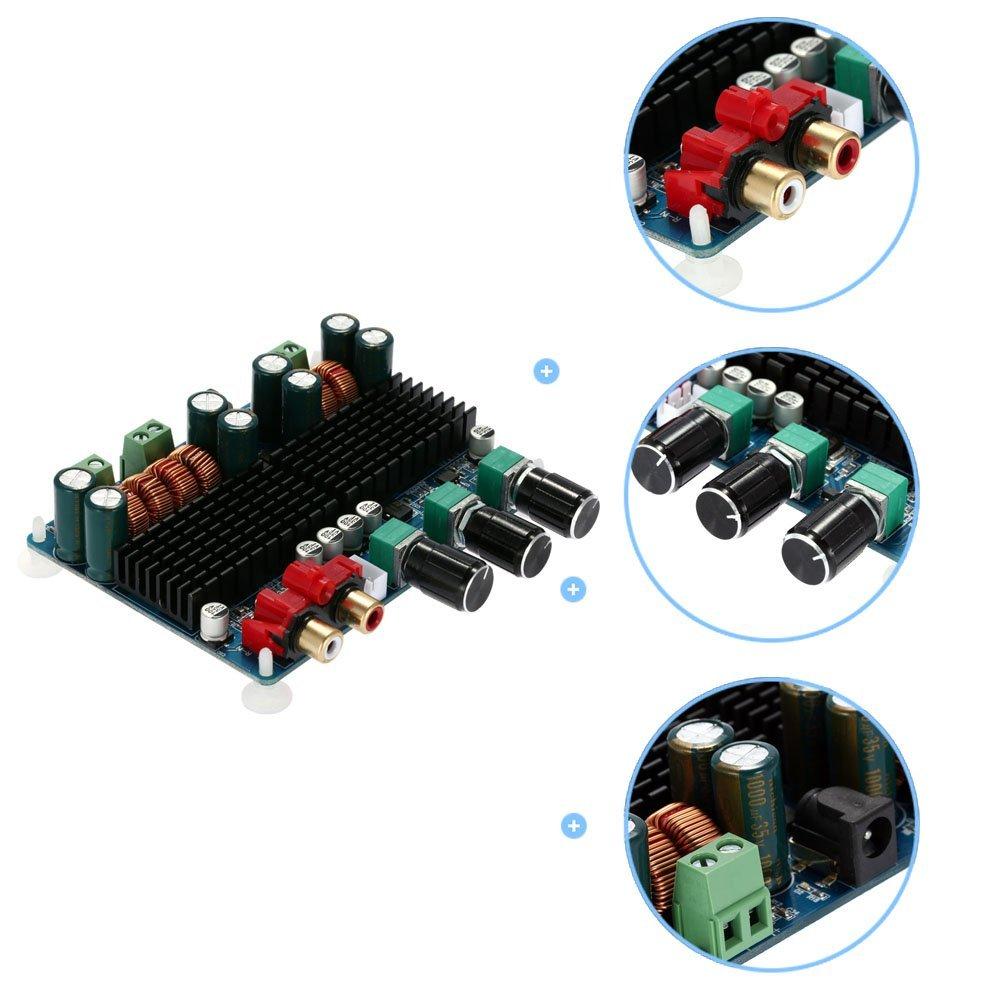KKmoon TPA3116 50 w 100 2,1 Subwoofer Digital Power-Amplificador-26 V CC Consejo 2 canales