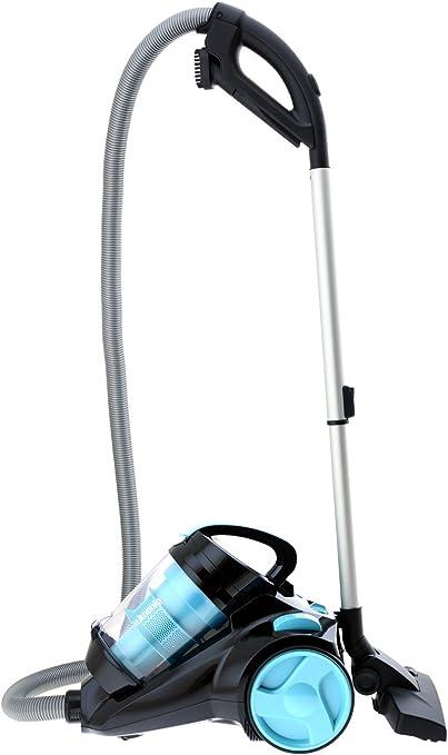 H.KOENIG SLS810 - Aspirador Multi Ciclónico sin bolsa Silence +, Triple A, Filtro HEPA, depósito de 2,5 L, nivel de ruido 74 dB, color azul: Amazon.es: Hogar