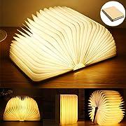 Una lampada a led a forma di libro è piuttosto ironica come cosa: una volta il problema era leggere un libro a letto perché non c
