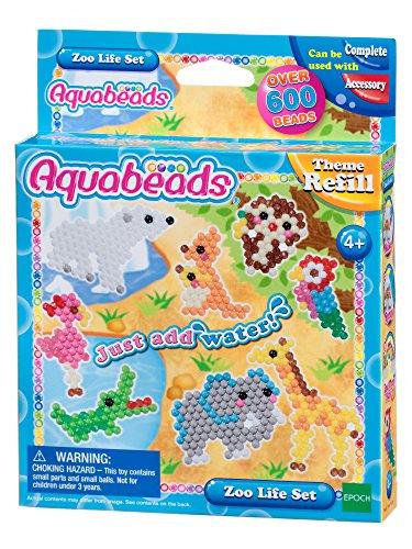 Aquabeads Zoo Life Theme Refill Set Craft (Aqua Zoo)