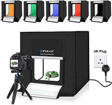 YAOKXIN Portable Photo Studio Box luz Blanca Simple Plegable Estudio Conjunto Foto fotografía Caja de luz