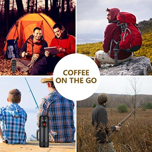 Belovedkai Portable Espresso Maker, Rechargeable 15 Bars Pressure Espresso Machine Small Travel Coffee Maker by Belovedkai (Image #7)