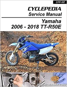 CPP-123-Print Yamaha TT-R125 Motorcycle Service Manual ... on