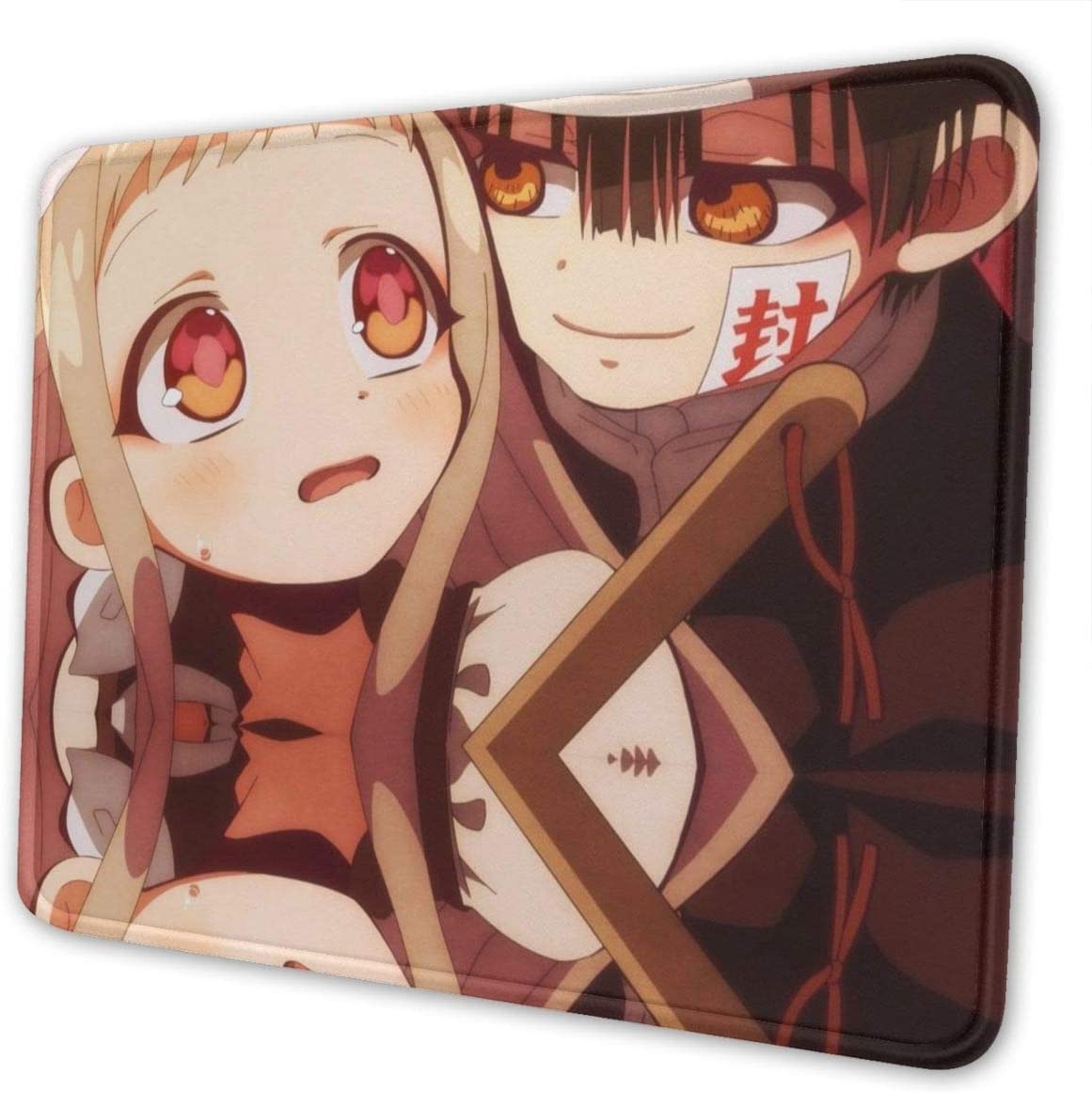 PAPAPI Toilet-Bound Ghim Của Yugi Tr/ên Hanako-kun Mouse Pad Rubber Non-Slip Rectangle for Computers 8.3 X 10.3 in