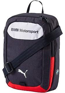 cd07db492cc4 PUMA BMW Motorsports Portable Messenger Bag Team Blue White