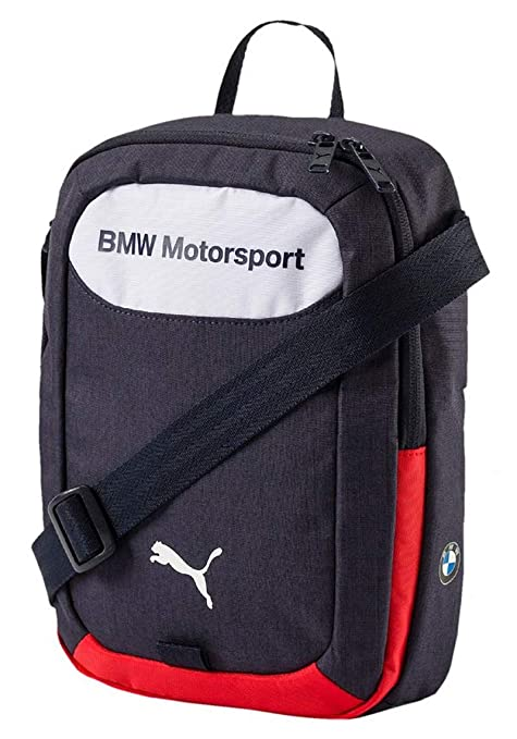 c70f6833e6c Image Unavailable. Image not available for. Color  PUMA BMW Motorsports  Portable Messenger Bag Team Blue White