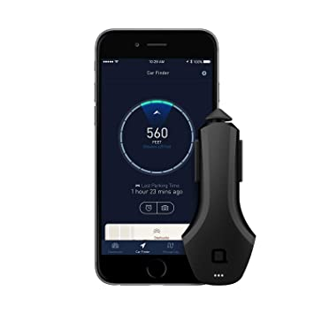 ZUS Smart Car Charger with Car Finder App Mobile Phone Car Chargers at amazon