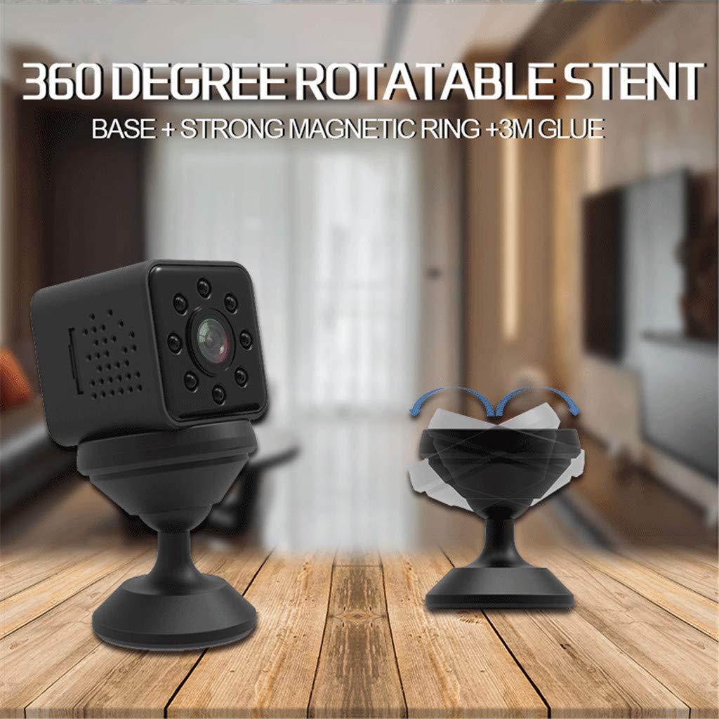 Noir FPV Surveillance De Bur KESOTO Mini Cam/éra SQ23 1080P HD HD Enregistreur Vid/éo FOV 155 Degr/és Drones De D/étection De Mouvement De Cam/éra De