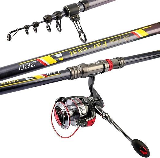 Spinning Combos 9000 giro de la rueda Kit Equipos de pesca con el ...