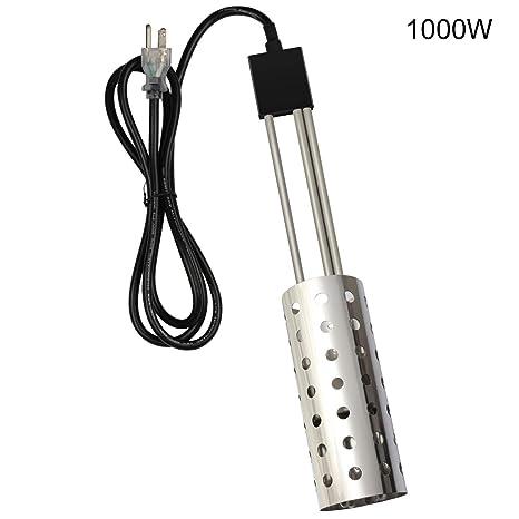Amazon.com: Calentador de inmersión de 1000 W, cubo de agua ...