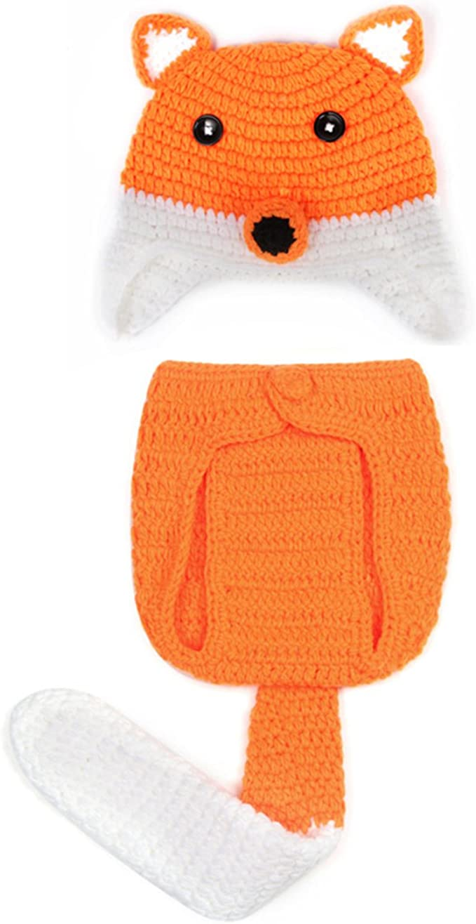 Jtc Baby Newborn Suit Photography Photo Prop Outfit Beanie Cap Girl Hat 0-6M