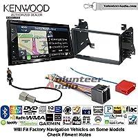 Volunteer Audio Kenwood Excelon DNX694S Double Din Radio Install Kit with GPS Navigation System Android Auto Apple CarPlay Fits 2008-2014 Kia Sedona, 2009-2010 Kia Optima