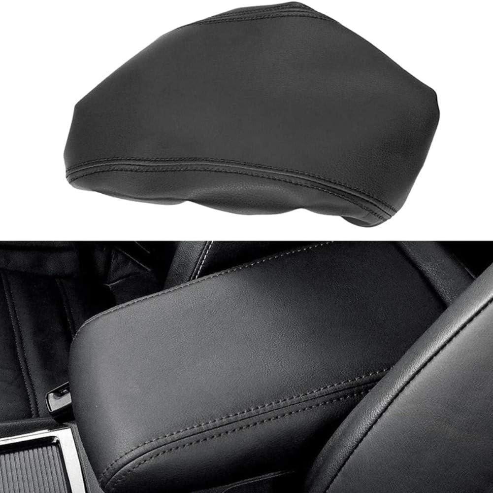 Adatta per Mazda CX-5 2018 2019 MIOAHD Copertura Protettiva per braccioli in Pelle per Console Centrale Rivestimento per braccioli