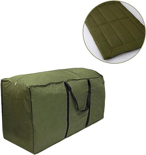 Outdoor Furniture Seat Cushion Storage Bag Waterproof Lightweight Carry Handbag,68.11 x 29.92 x 20.08 inch