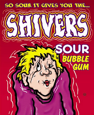 Sour Gumballs Shivers (Oak Leaf Shivers Gumballs (5 pounds))