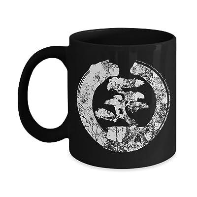 Cool Bonsai Tree T-shirt Gift for Yoga Coffee Mugs: Kitchen & Dining