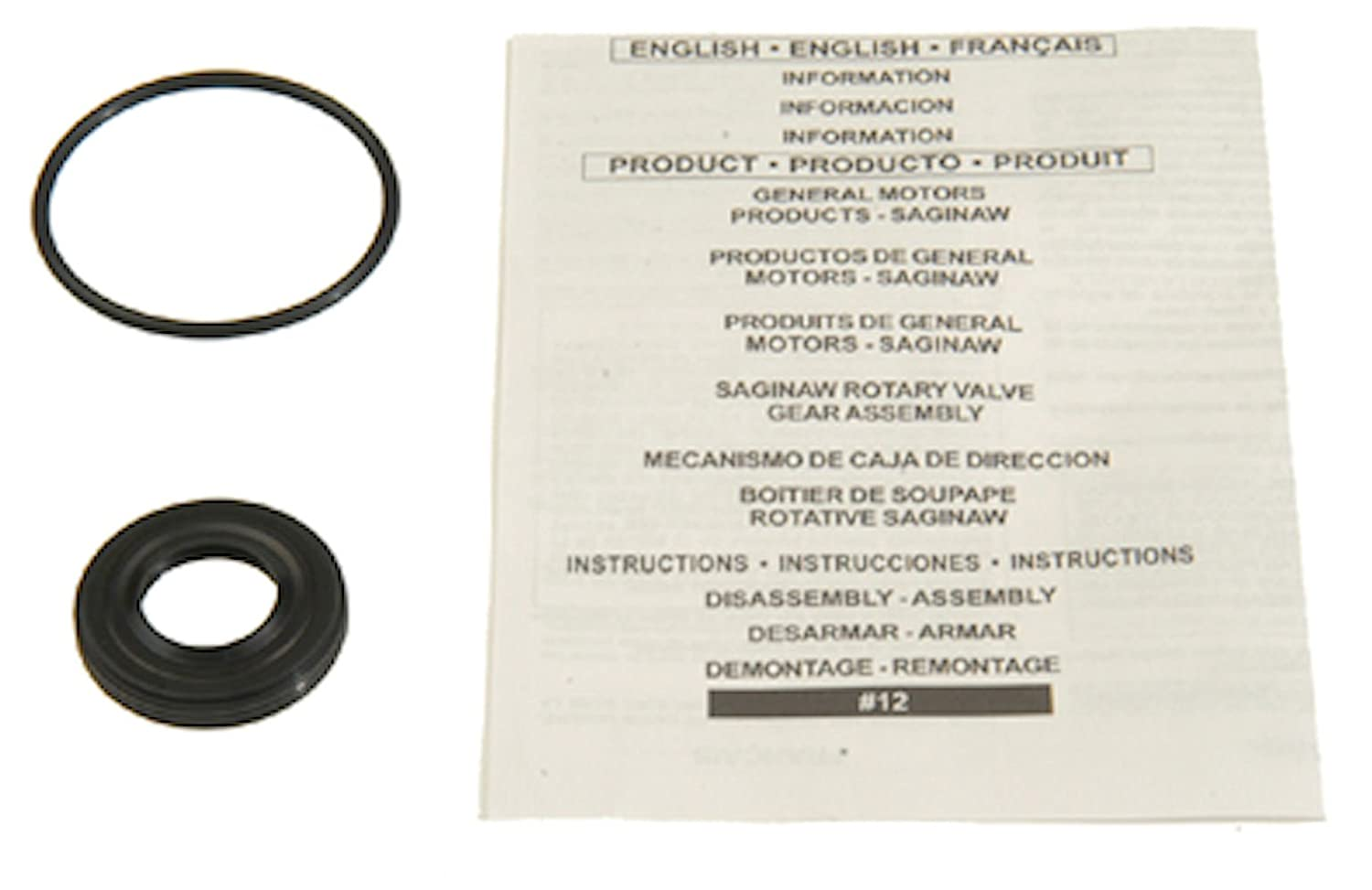 Edelmann 8777 Power Steering Gear Box Input Shaft Seal Kit EP8777