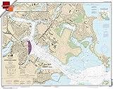 NOAA Chart 13272: Boston Inner Harbor 21.00 x 26.64 (SMALL FORMAT WATERPROOF)