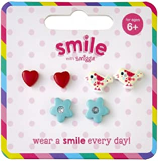 2c72621cee81 Smiggle Smile Charming Earring Smile Sheek Earring Pack X3 from Maxmilli  gift collections