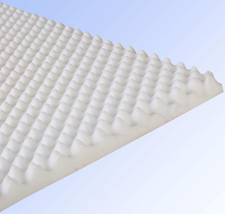 Visco-Topper, 140 x 200 cm Höhe 2,5 cm »Microaktiv Viskokomfort Topper«, Wendre