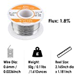 WYCTIN 60-40 Tin Lead Rosin Core Solder Wire for