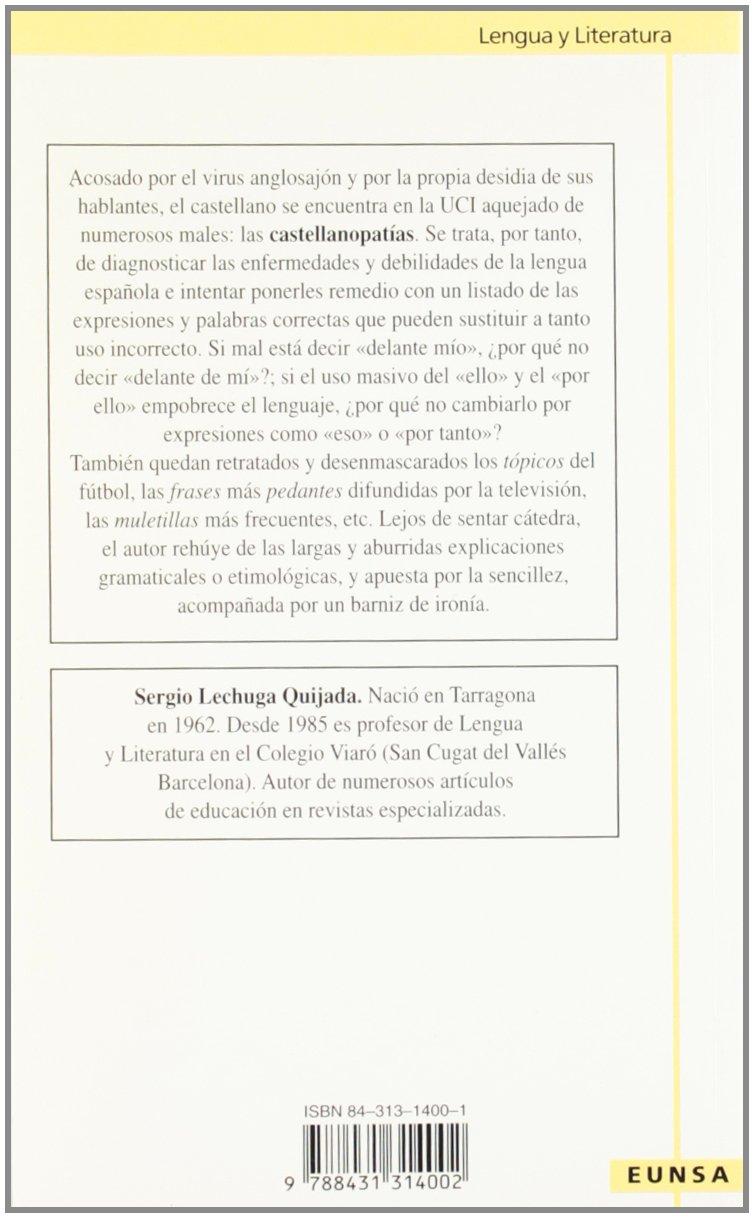 Amazon.com: Castellanopatías: Enfermedades del castellano de ...