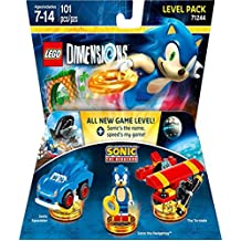 Lego Dimensions Level Pack Sonic - Edición Standard - Standard Edition