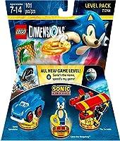 Lego Dimensions Level Pack Sonic - Edición Standard - Standard Edition