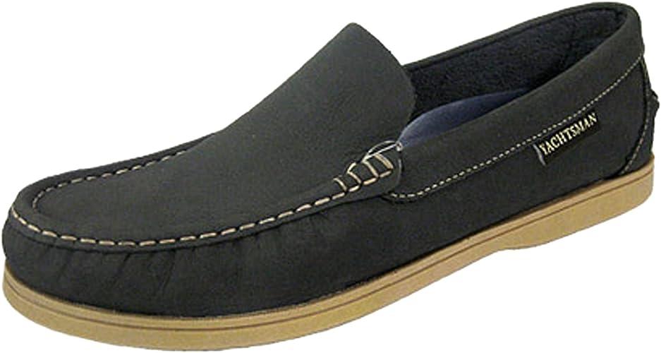 YACHTSMAN - Mocasines elegantes, zapatos náuticos, de piel, para hombre