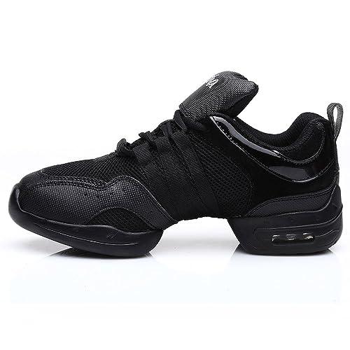 b094ef5c8631f SWDZM mujeres zapatos de baile moderno hip-hop zapatos de jazz deportivo  zapatillas de deporte zapatos al aire libre ES-B56  Amazon.es  Zapatos y ...