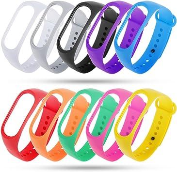 Tiefes Blau Maspen Armband Kompatible für Xiaomi Mi Band 4 //Mi Band 3 Damen